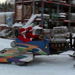 Santa: Why Fly When You Could Cut The Snow In This 500HP Snow Sled?
