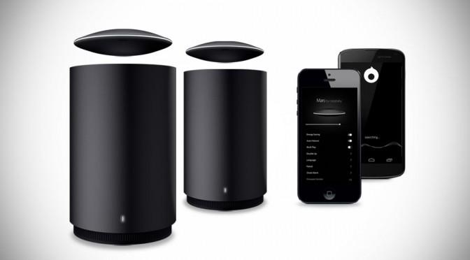Mars Levitating Bluetooth Speaker