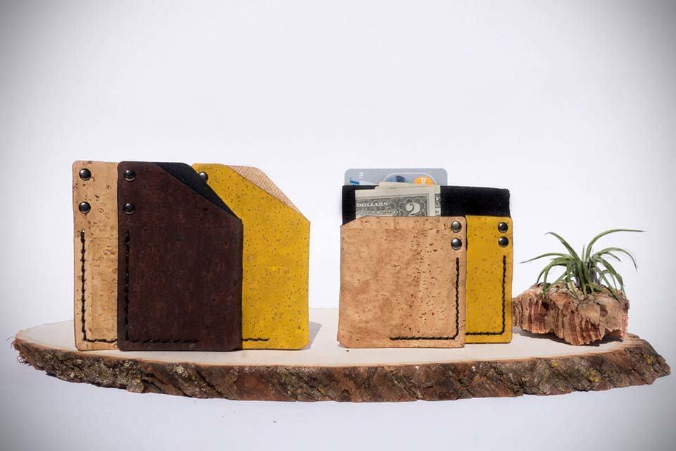 Monk & Guru Handcrafted Minimalist Cork Wallets