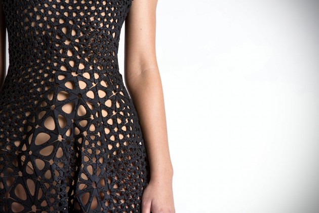 Nervous System 4D Printed Dress