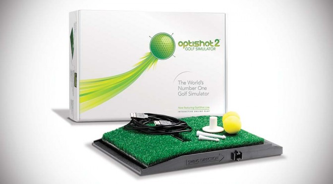 OptiShot2 Golf Simulator Lets You Hone Your Golf Skill in the Comfort of Your Home