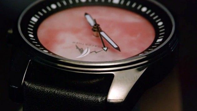 Plug & Feather Stone Face Wrist Watches - Carnelian