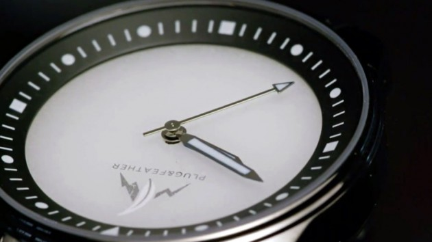 Plug & Feather Stone Face Wrist Watches - Cloud Jasper