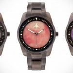Plug & Feather Are Wrist Watches With Dial Face Crafted From Stones