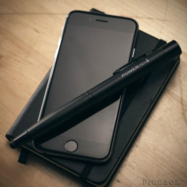 Power Pen Pen-Stylus Hybrid Portable Battery