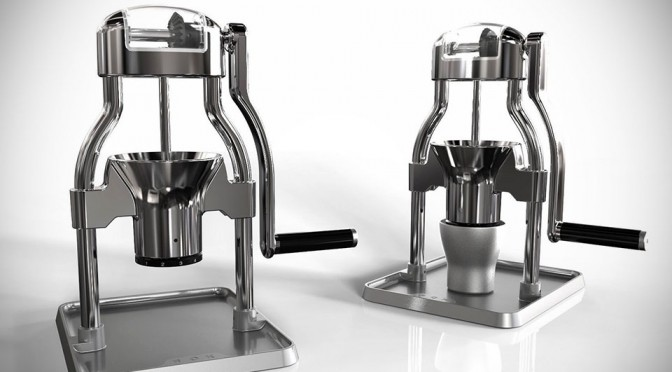 ROK Coffee Grinder Lets You Grind Coffee with Variable Coarseness
