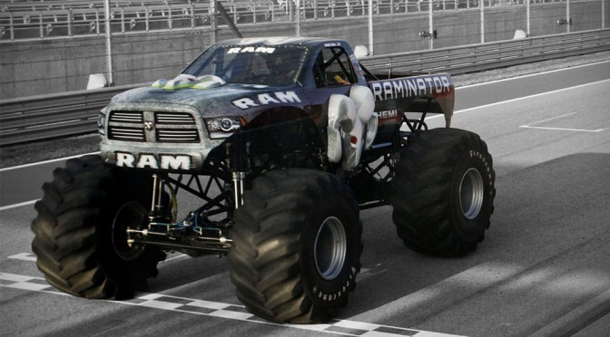Raminator - The Fastest Monster Truck in the World