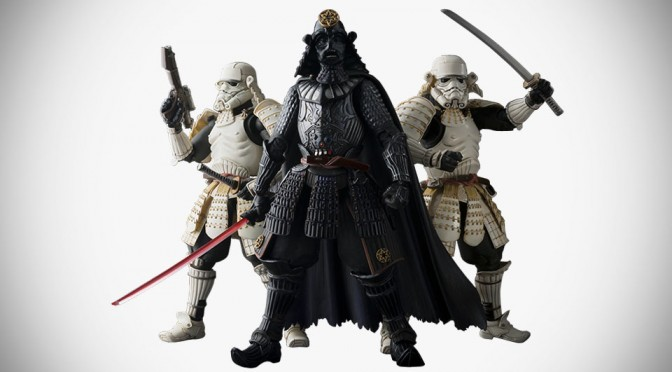 S.H.Figuarts Samurai Darth Vader and Stormtrooper