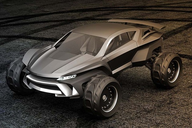 Sidewinder Sand Dune Buggy by Gray Design