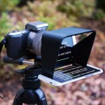 The Parrot Lets You Use Your Smartphone as a Teleprompter with a DSLR or Mirrorless Camera