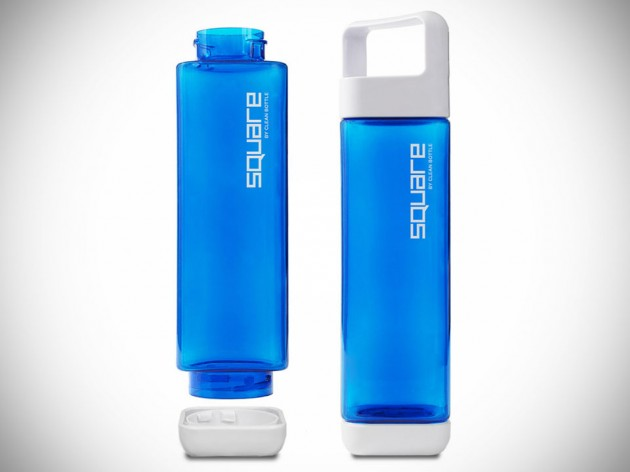 The Square Water Bottle by Clean Bottle
