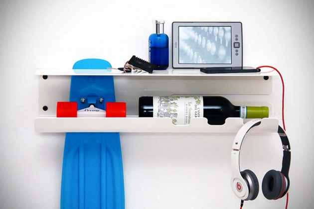 Wall Ride Skateboard Shelving