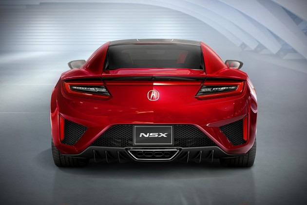 2016 Acura NSX at Detroit Auto Show