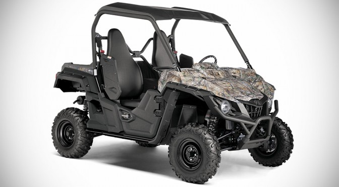 2016 Yamaha Wolverine-R Side-by-Side Sport Vehicle - Realtree Camo
