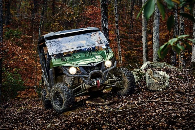 2016 Yamaha Wolverine-R Side-by-Side Sport Vehicle - Hunter Green