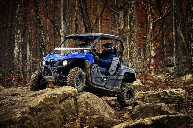 2016 Yamaha Wolverine-R Side-by-Side Sport Vehicle - Steel Blue