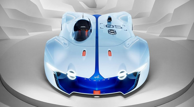 Alpine Marks 60th Anniversary with Vision Gran Turismo Virtual Car