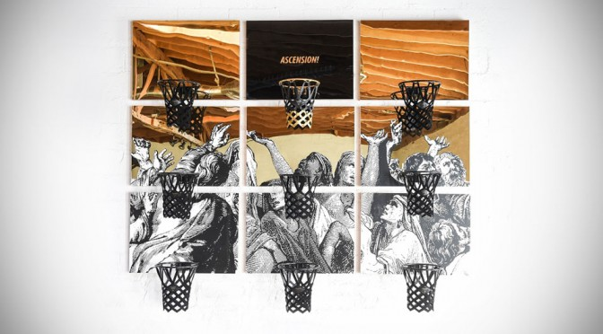 KILLSPENCER's Ascension! Installation Is One Basketball Hoop That You Don't Want To Take The Shot