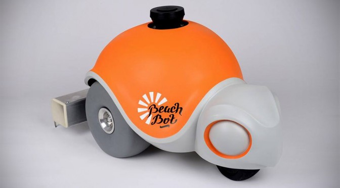 BeachBot Autonomous Sand Art Robot
