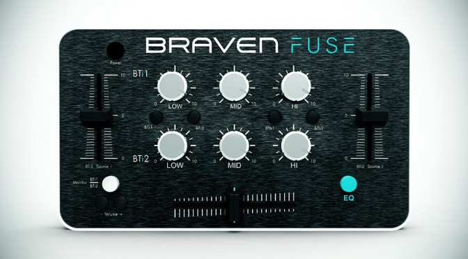 Braven Fuse Portable Audio Mixer at CES 2015