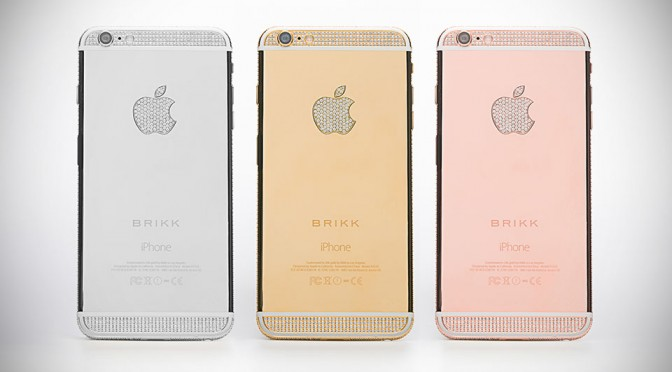 That's It. Brikk Has Done It Again. Now With Diamond-studded iPhone 6 That Cost A Cool $43,000 And Up