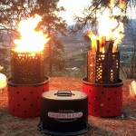 Wood, Charcoal or Propane? The Campfire in a Can Takes It All