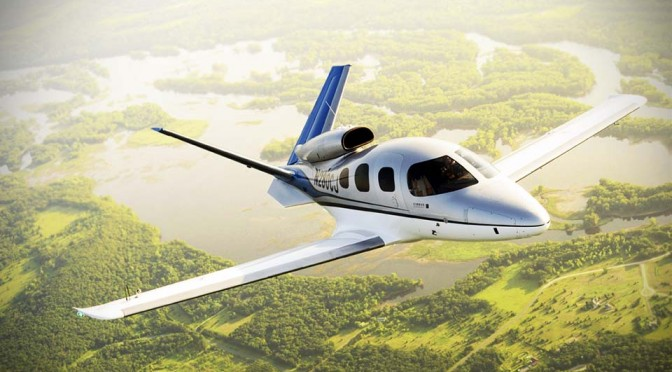 Cirrus' 2 Million Dollar Personal Jet Readies For 2015 Launch