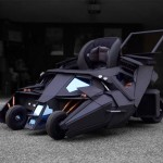 Batman Super Fan's Kid Gets Custom Tumbler Baby Stroller, Daddy Looked More Excited Than Kid