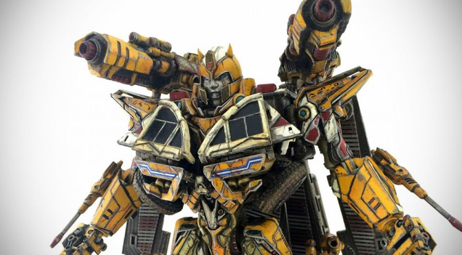 Someone Turned Transformers Bumblebee Into A Prime And It Looks Awesome