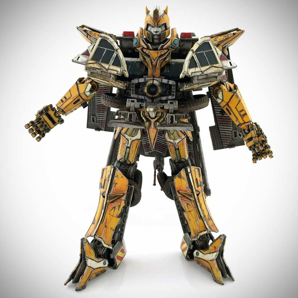 Someone Turned Transformers Bumblebee Into A Prime And It