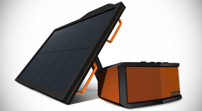ECOXGEAR ECOSMART Solar-powered Bluetooth Speaker and Powerbank