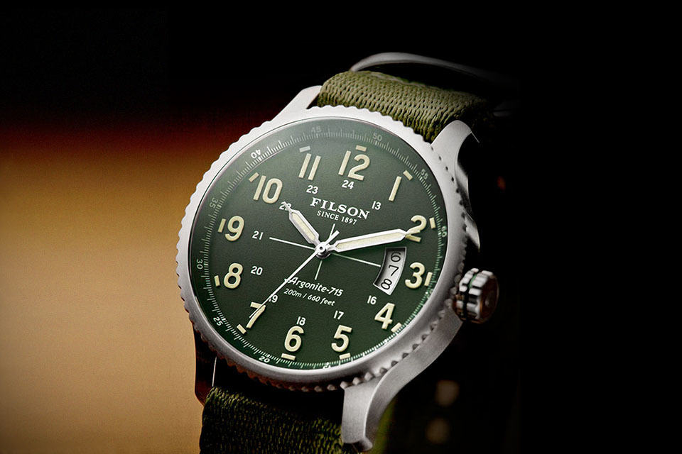 Filson Now Has Its Own Line Of Rugged Wrist Watches Hand