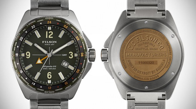 Filson Rugged Watch Collection