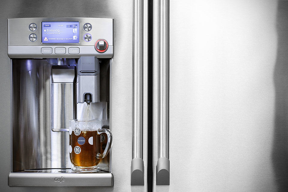 Forget About Dispensing Ice Ge S New Fridge Can Make A