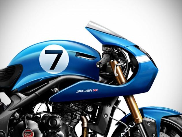 Jaguar Project 7MC Concept Bike by Tamás Jakus