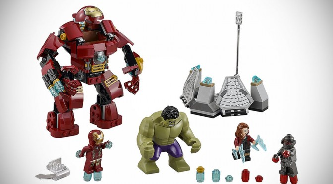 LEGO Avengers: Age of Ultron Sets