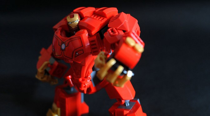 LEGO Iron Man Hulkbuster Project by Jon San Pedro