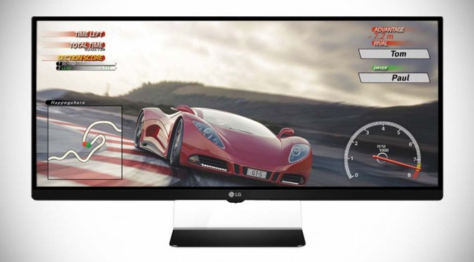 LG To Debut World's First 21:9 UltraWide Gaming Monitor with AMD Freesync At CES 2015