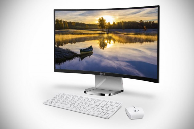 LG Curved All-In-One PC 29V950