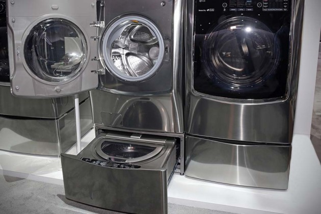 LG Twin Wash System Washing Machine at CES 2015