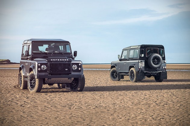 Land Rover Limited Edition Defenders - Adventure Edition