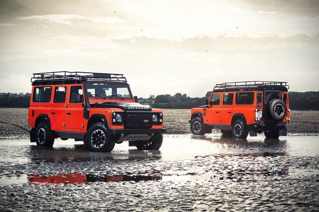 Land Rover Limited Edition Defenders - Autobiography Edition