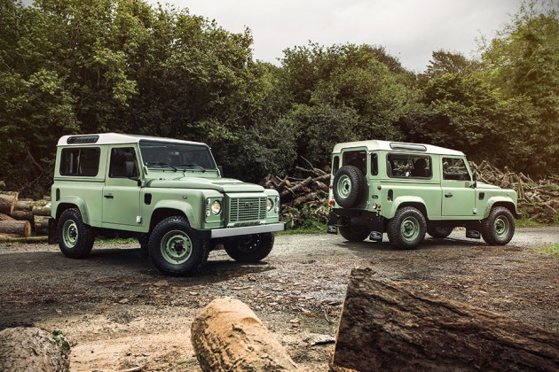 Land Rover Limited Edition Defenders - Heritage Edition