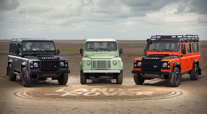Land Rover Defender's Production Ends This Year, So Here Are Three Limited Editions For Remembrance
