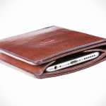 Danny P.'s Leather Wallet with iPhone 6 Case is a Full-fledge Wallet and is Totally Apple Pay-friendly