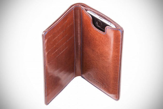 Leather Wallet with iPhone 6 Case by Danny P.