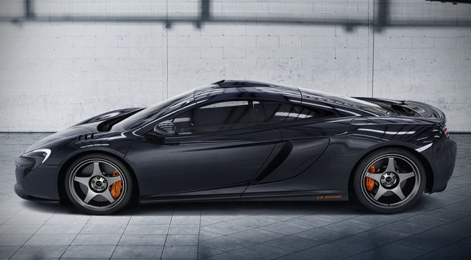 McLaren Celebrates 20th Anniversary of F1 GTR Win with $370K 650S Le Mans