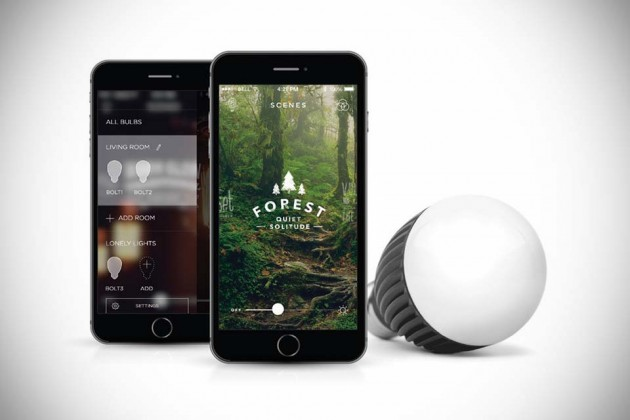 Misfit Bolt Smart Bulb at CES 2015