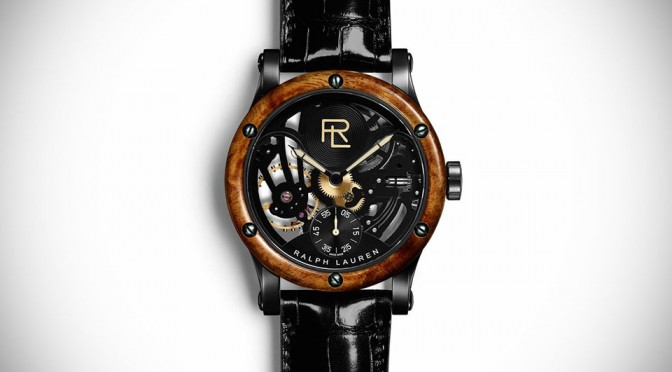 Ralph Lauren's 1938 Bugatti 57SC-inspired Timepiece is a Skeletal Beauty