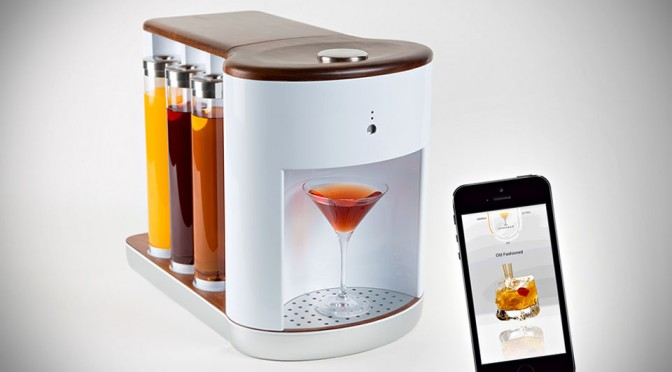 Somabar Robotic Bartender Will Concoct Your Favorite Mix in Seconds